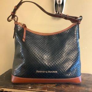 Dooney & Bourke textured Adjustable shoulder purse